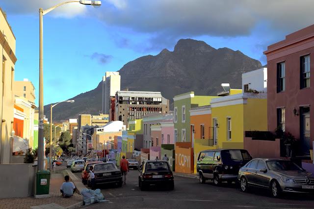 Cape Malay area in Cape Town, Bo Kaap.