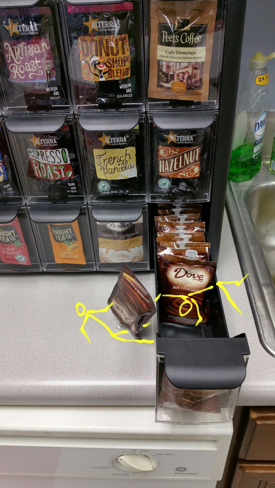 Oh oh, it looks like the #coffeesticks had a little accident