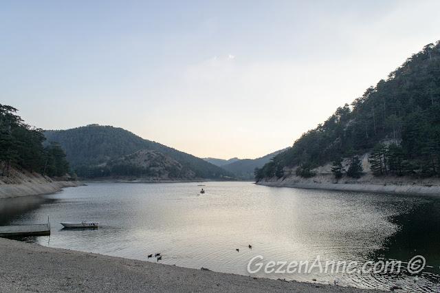 Bolu Sünnet Gölü manzarası