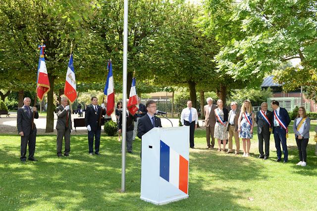 Mairie de Sèvres - Commémoration 18 juin