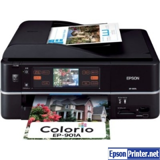 Reset Epson EP-901A laser printer with software