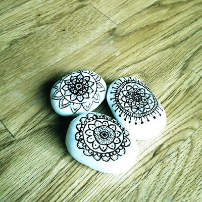 sharpie painting, clay craft,