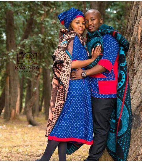 Lesotho Bride Groom Dresses ⋆ Fashiong4