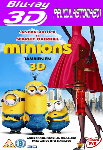 Los Minions (2015) 3DFull HOU