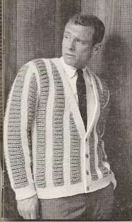 Mans Knitted Casual Cardigan Pattern