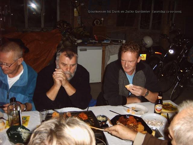 Frans, Eelco en Klaas