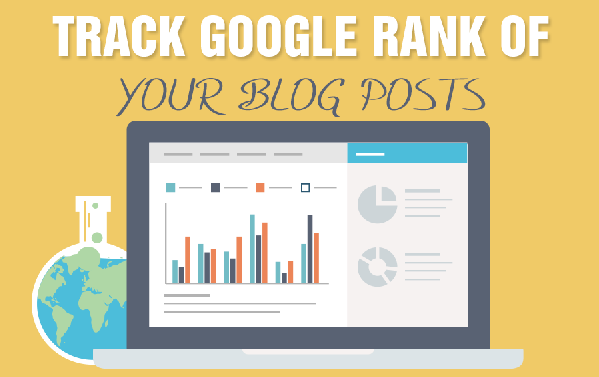 Track Google Rank of your blog posts