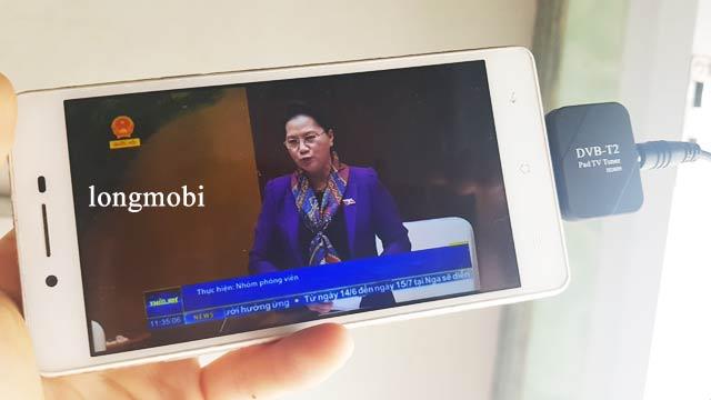 USB DVB T2 CHO DIEN THOAI