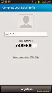 Gambar Informasi PIN BBM For Android