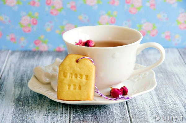 How to Make Tea Flavor Cookies - 4 Ways (Original, Matcha Green Tea, Earl Grey, and Rose)    http://uTry.it