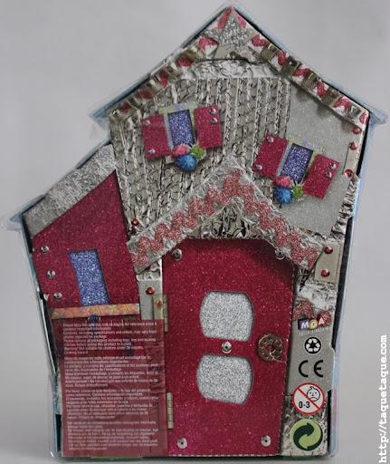 mini Lalaloopsy Dot Starlight en su caja (vista posterior)