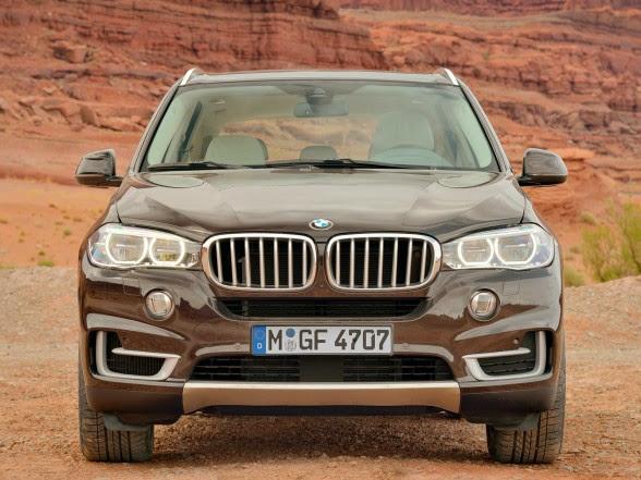 2014 BMW X5 - xDrive50i - Front