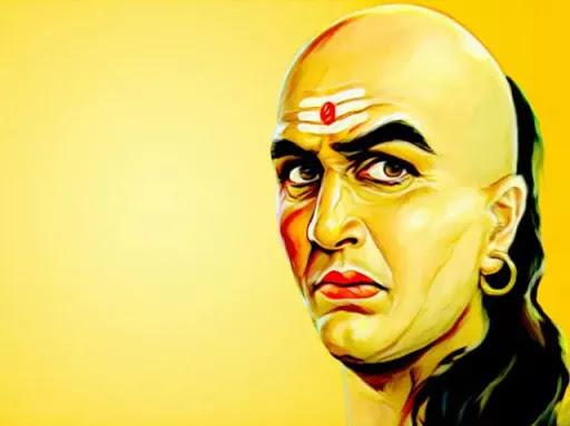 Acharya chanakya-Man me soche hue karya ko kisi ke samne