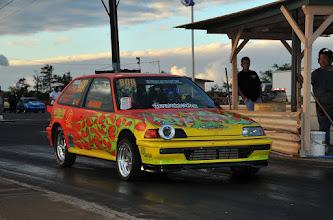 Photo: Mark Caires' hot Honda....