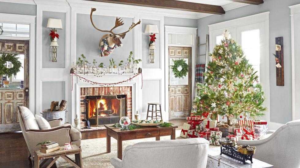 Modern Christmas decoration for home