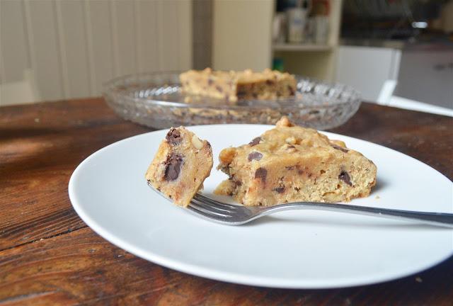 ... Cookie Cake her. Bananen, Walnüsse und Schoki in einem - kann ja nur