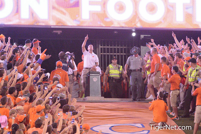 Georgia at Clemson Photos - 2013, Dabo Swinney, Football, Georgia, The Hill