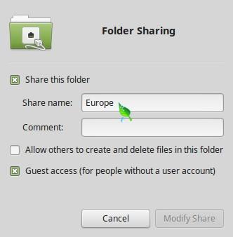 Sharing Europe