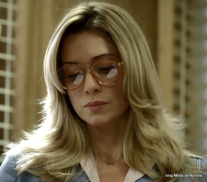 moda da novela Boogie Oogie - óculos da Gilda dia 6 de agosto