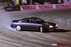 Nissan S14 with RB20 engine drifting