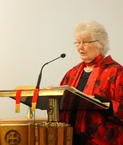 April Bamford leads the intercession