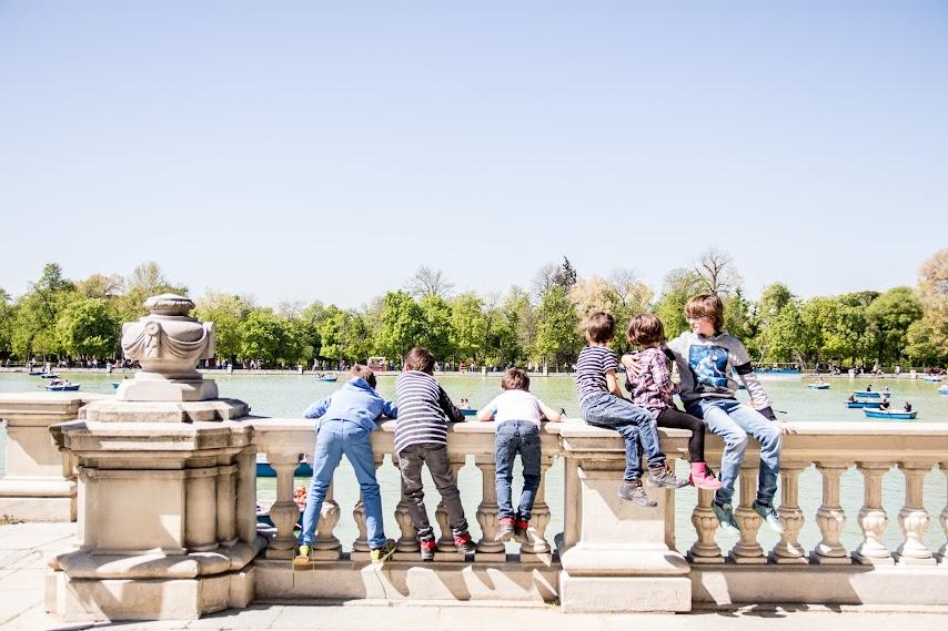 Reportaje fotográfico con niños en Madrid