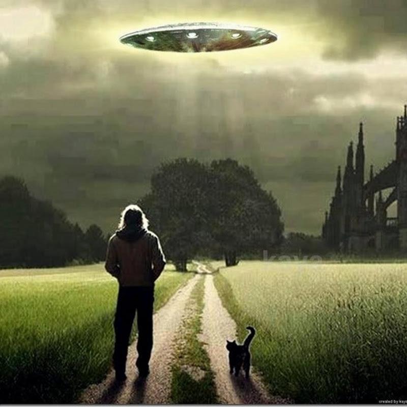 Imágenes de ovnis y extraterrestres