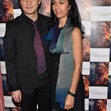 OIC - ENTSIMAGES.COM - Seeta Indrani and Christopher Bishop at the  : Feast of Varanasi  UK film premiere during the London Asian Film Festival 5th March 2016 Photo Mobis Photos/OIC 0203 174 1069