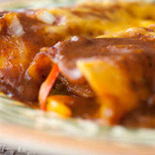 Chili Gravy Enchiladas