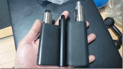 DSC 1413 thumb%25255B1%25255D - 【MOD】7色LEDの魔法と手のひらサイズ!「Joyetech eGo AIOクイックスターターキット」初心者向け一体型レビュー【トップフィル】
