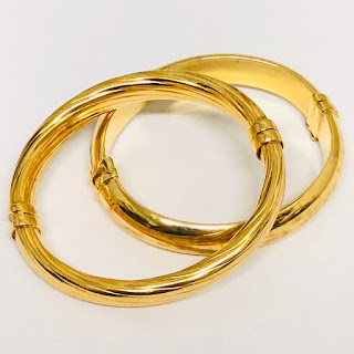 Vermeil Bracelet Pair