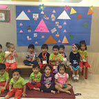 Triangle Day Celebrated by Playgroup at WITTY WORLD