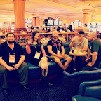 In the DelMar at #TAM2013 in #vegas at #SouthPoint with @rjblaskiewicz, @eshto, Chas, & @D4M10N.
