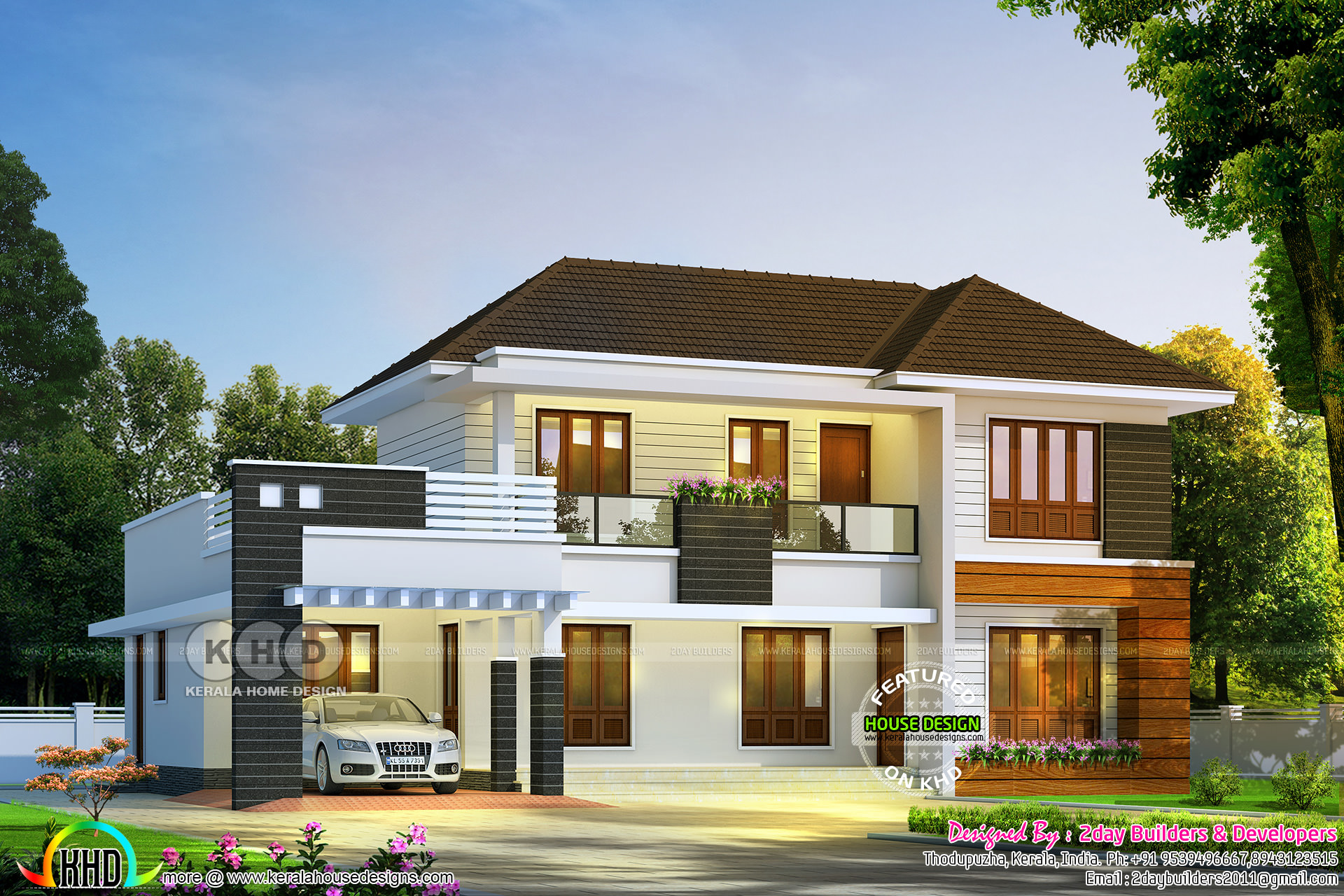 4 Bedroom Mixed Roof Home Part - 30: 4 Bedroom 2350 Square Feet Mixed Roof Villa