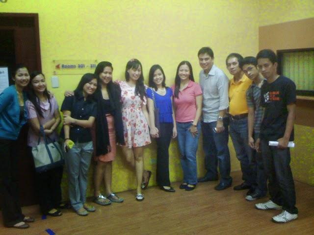 Alex Araneta CCF Biblical Foundation with ladies for God