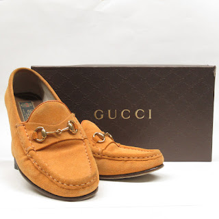 Gucci Suede Leather Driving Mocassins