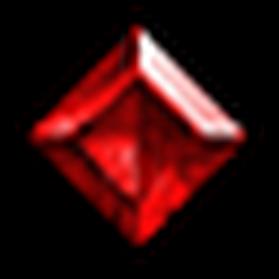 完美方正紅寶石