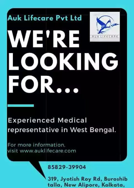 auk lifecare pvt  ltd  u2013 hiring for medical representative
