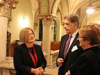 19 - A konferencián részt vett Gál Kinga európai parlamenti képviselő.JPG