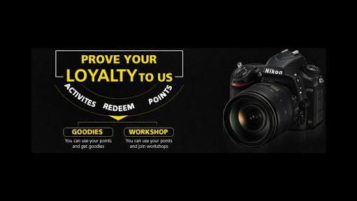 Nikon School Website - Earn Unlimited Freebies By Refering Your Friends