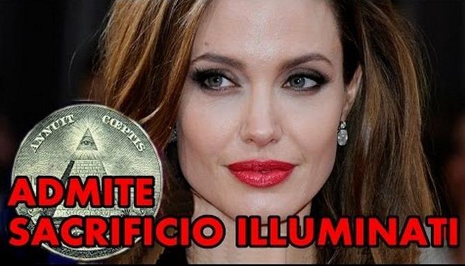 Angelina Jolie confessa Ritual Satânico com sangue