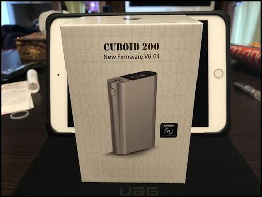 IMG 0489 thumb%25255B5%25255D - 【MOD】「Joyetech Cuboid 200 Mod」おまえは今まで吸ったVAPINGの回数をおぼえているのか?パワー系爆煙MODレビュー!【Joyetech】