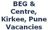 Bombay Engineer Group, BEG Centre Kirkee, Defence Civilian Jobs