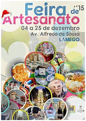 """Feira de Artesanato """"marca"""" época de Natal em Lamego"""