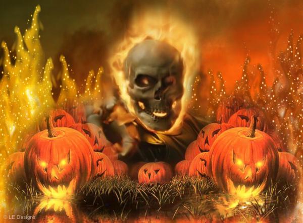 Halloween Sceleton, Halloween