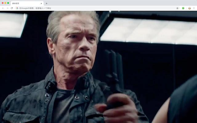Terminator HD New Tabs Popular Movies Themes