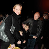 WWW.ENTSIMAGES.COM - Hermione Norris arriving  at  Cirque Du Soleil: Kooza VIP Royal Albert Hall London January 8th 2013                                                       Photo Mobis Photos/OIC 0203 174 1069