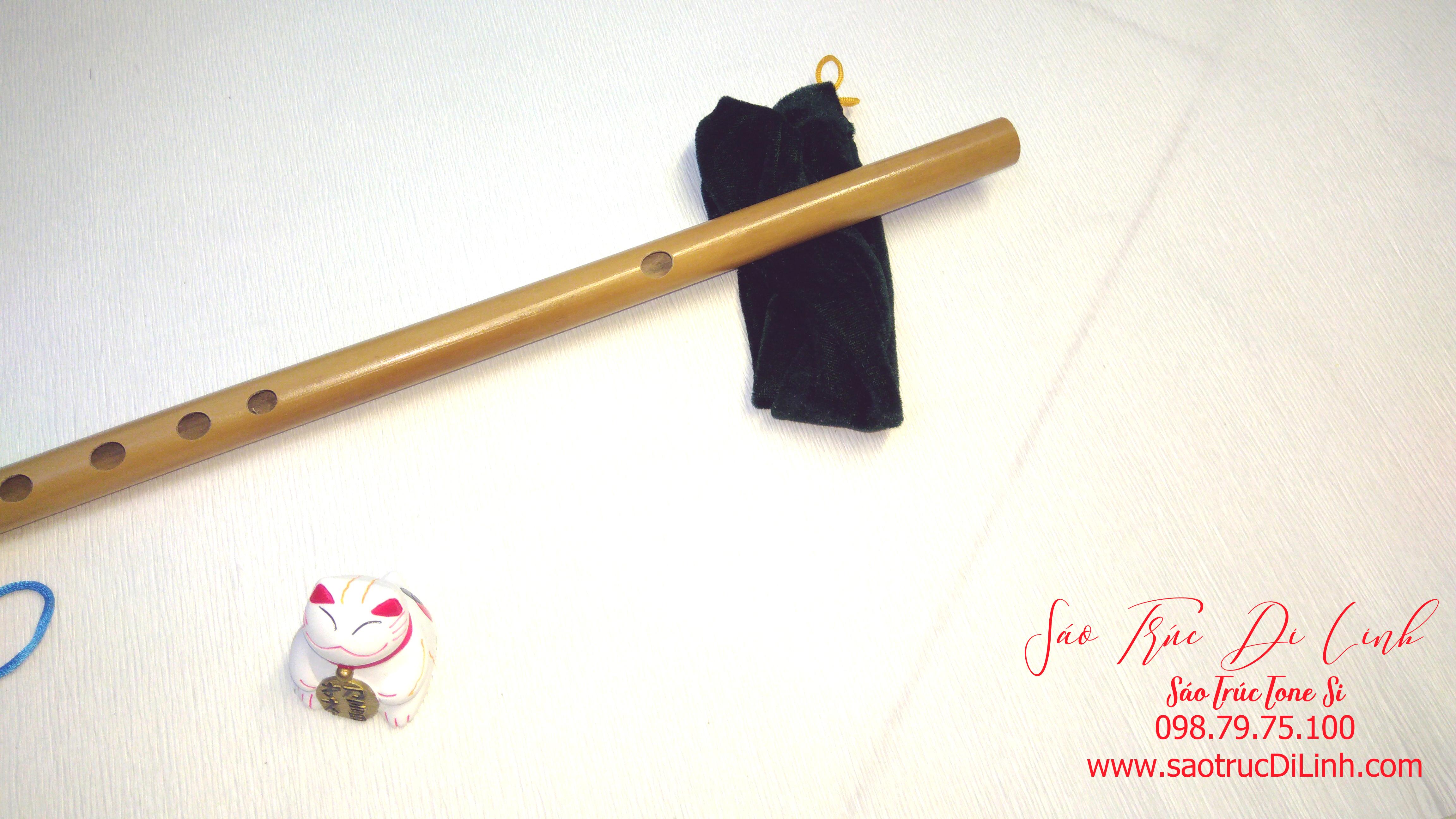 mua sáo Si giáng