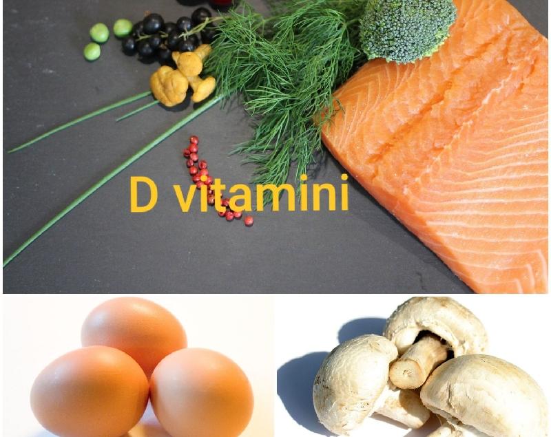 D vitamini eksikliği belirtileri nelerdir,  D vitamini hangi besinlerde bulunur