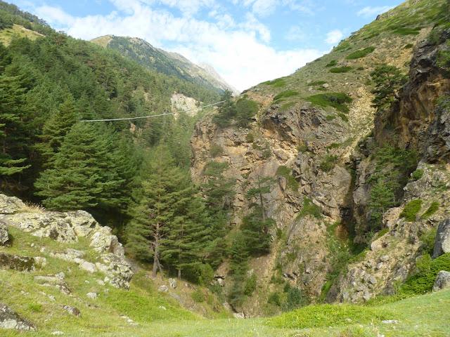 Environs d'Elbruz Village (15 km à l'est de Terskol) à 1850 m (Kabardino-Balkarie), 9 août 2014. Photo : J. Marquet